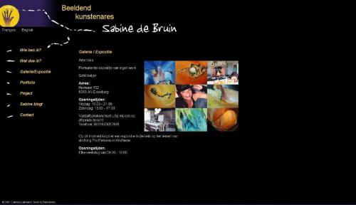 Website-beeldend-kunstenaar-Sabine-de-Bruin